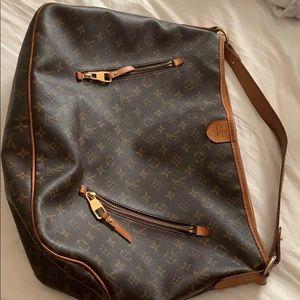 Louis Vuitton Delightful brown monogram bag canvas